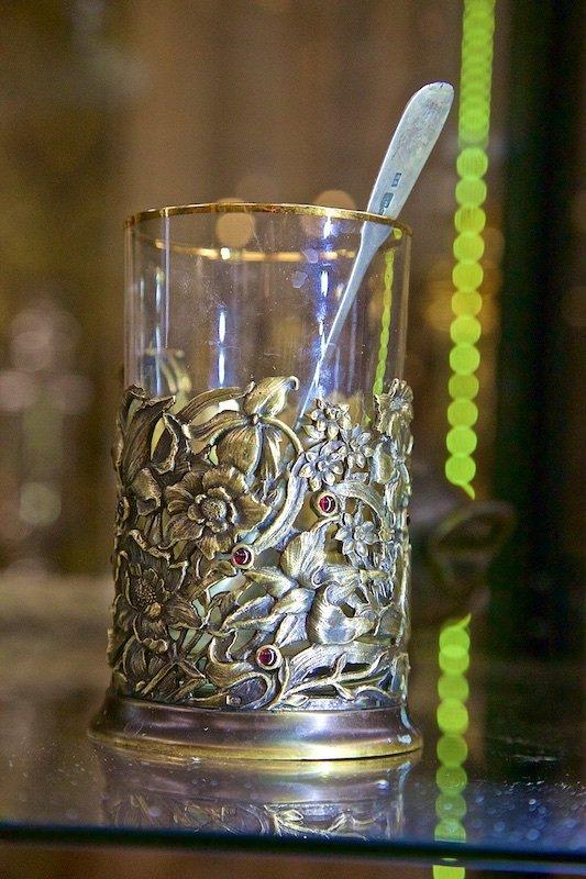 Выпей чайку - позабудешь тоску!: Подстаканничек знатный!