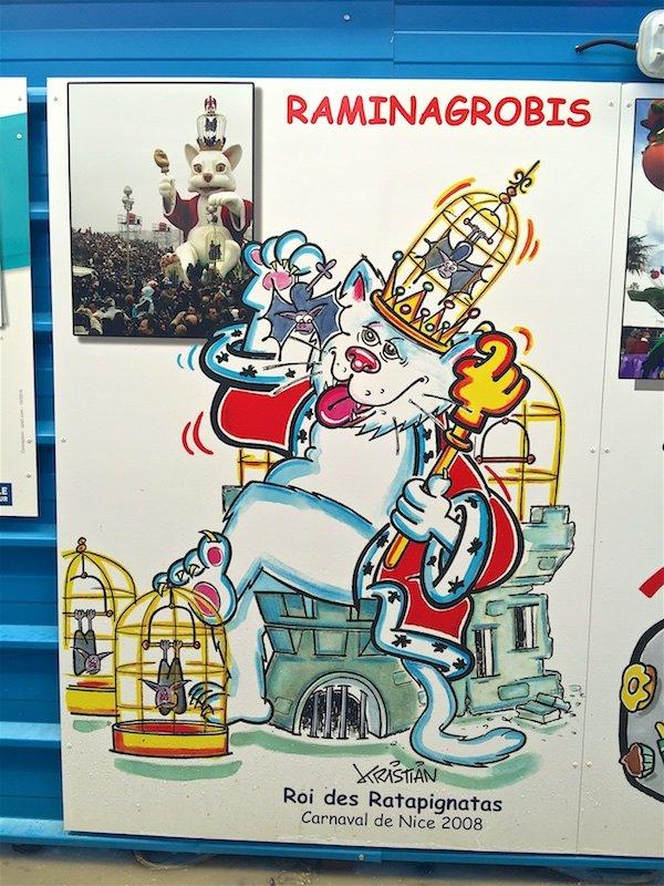 АзурМетроСтрой: Например, сцены из городской жизни. Карнавал Ниццы 2008 года.