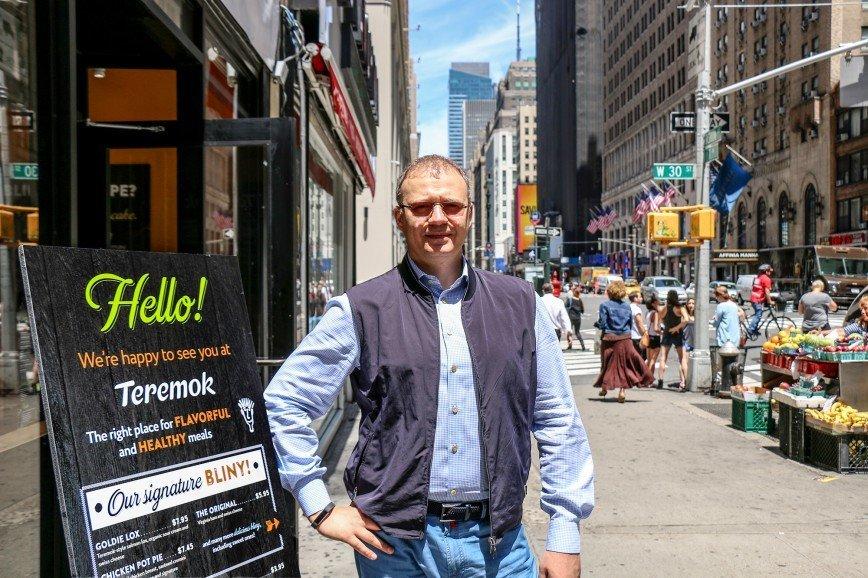 """Ресторан сети """"Теремок"""" открылся на Манхэттене"""