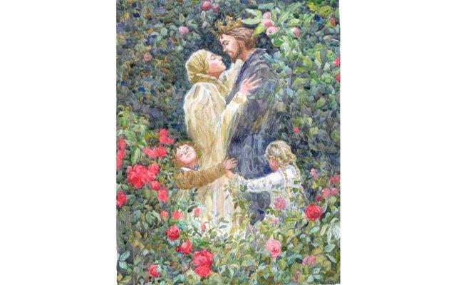 У Белоснежки, Золушки и Спящей Красавицы появились дети