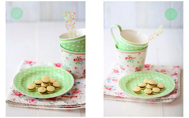 Мини-печенье с шоколадной начинкой