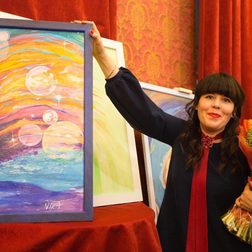 Дивный мир полотен художницы Ники Тартаковской