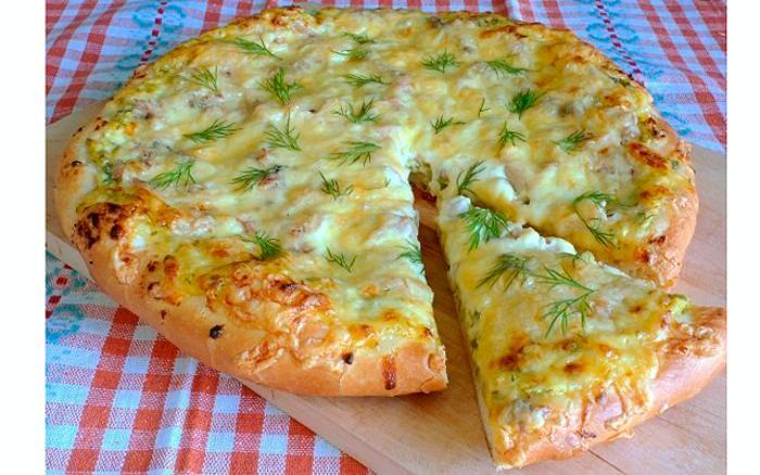 как приготовить домашнюю тесто пиццы