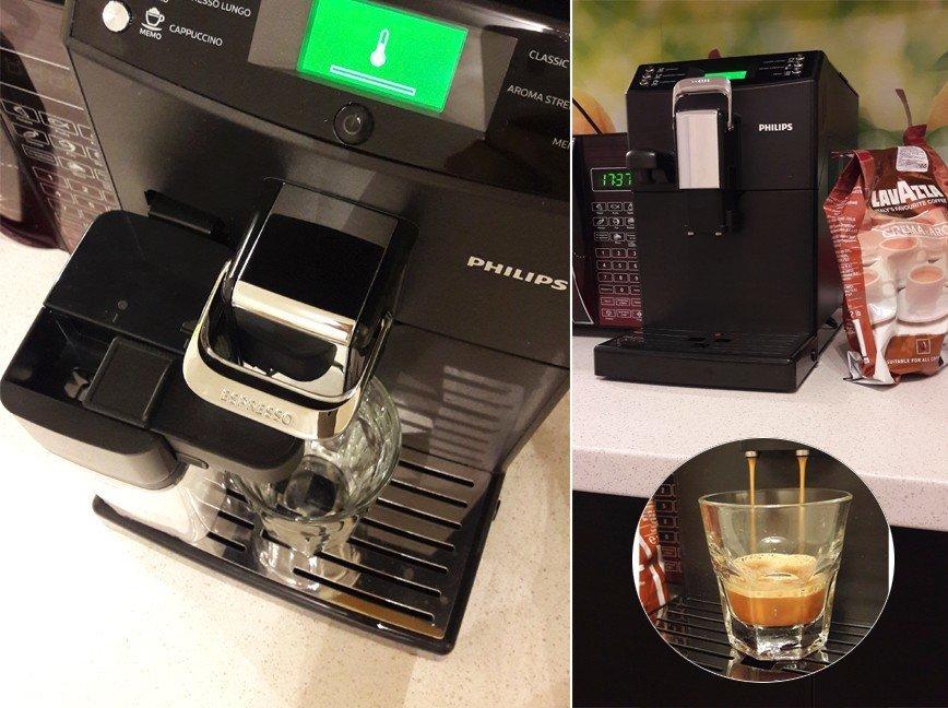 Тестирование автоматической кофемашины от Philips