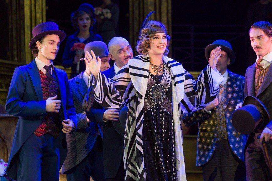 Валерия Ланская дебютировала в мюзикле «Принцесса цирка»