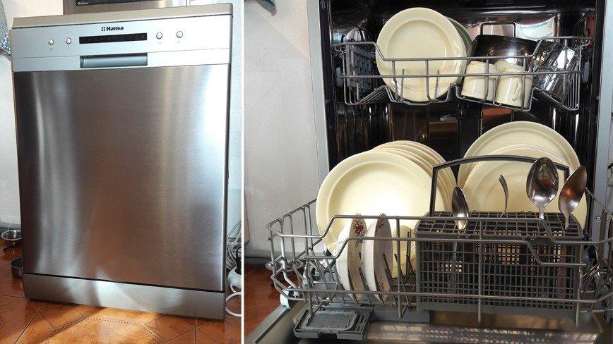 Тест-драйв посудомоечной машины Hansa ZWM 616IH