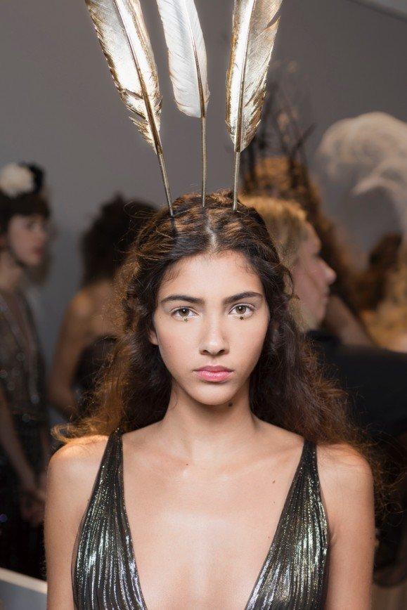 Макияж для показа Dior Haute Couture SS 2017