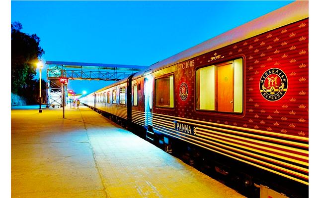 Самый роскошный поезд в Индии