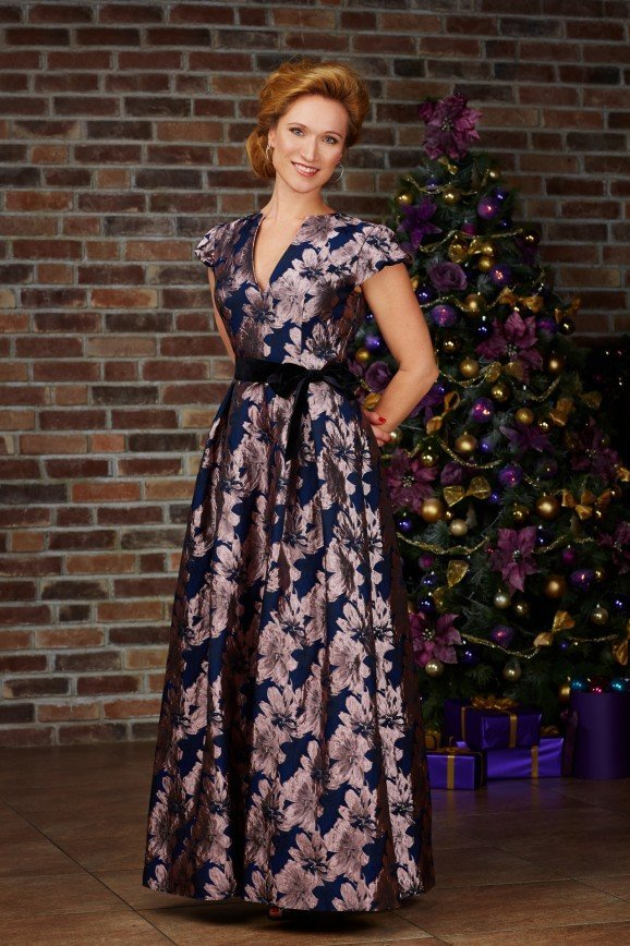 Мария Киселева поздравляет с Новым годом