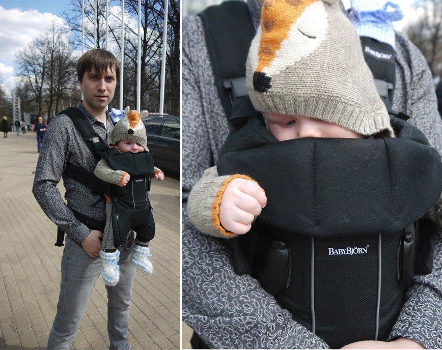 Тест-драйв рюкзака-кенгуру One BabyBjorn