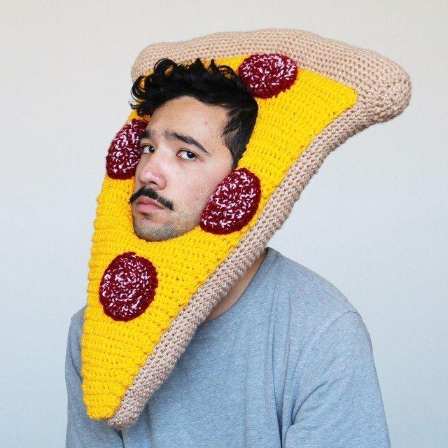 Свяжите это немедленно: шапки в форме еды