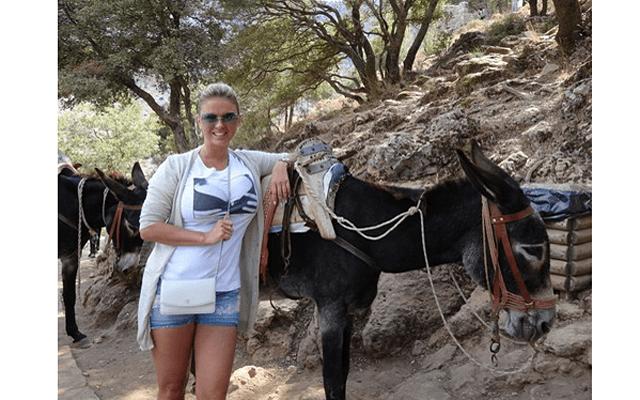 Анна Семенович исследовала острова Греции