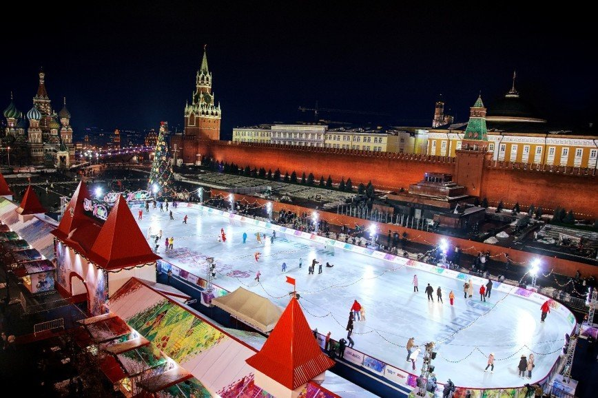 10 главных катков Москвы