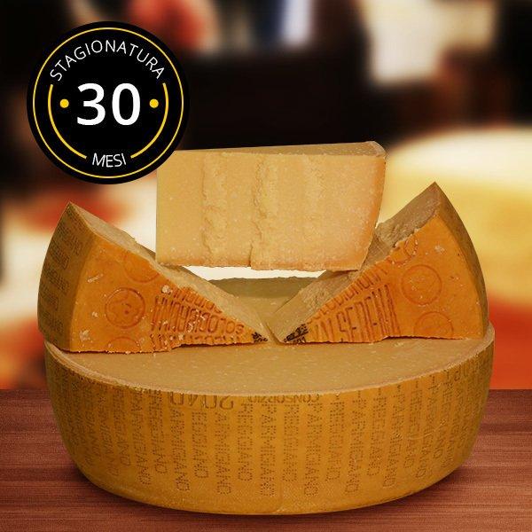 Новогодний стол без санкций: какие деликатесы заказать из Европы?: [b]Сыр Parmigiano - Италия ($23) [/b]    Пармезан - один из самых известных сыров в мире, ставший гастрономическим