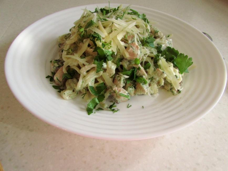 Салат с семгой (более 100 рецептов с фото) - рецепты с ...