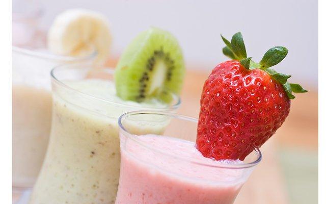 молочные коктейль рецепты мороженого с соком