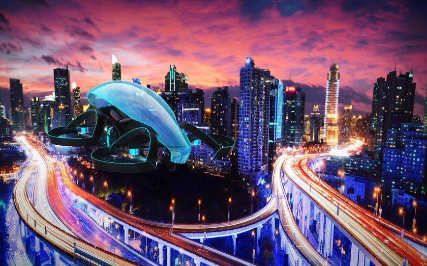 Инженеры Toyota презентовали летающий автомобиль