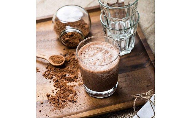Шоколадно-банановый утренний коктейль
