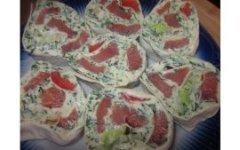 Вкусные Рулетики с красной рыбой