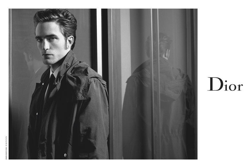 Роберт Паттинсон стал лицом мужской коллекции Dior