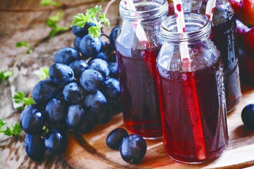 Виноградный сок поможет работающим матерям