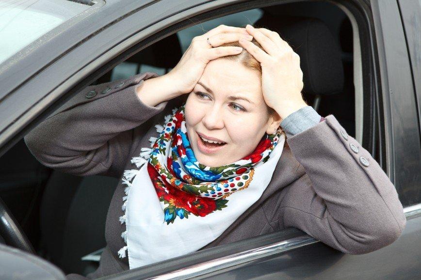 Женские секреты: как справить нужду в машине?