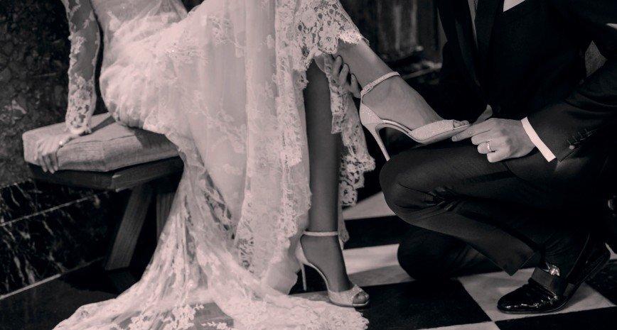 Дизайнеры Jimmy Choo предлагают нанести на подошву дату свадьбы