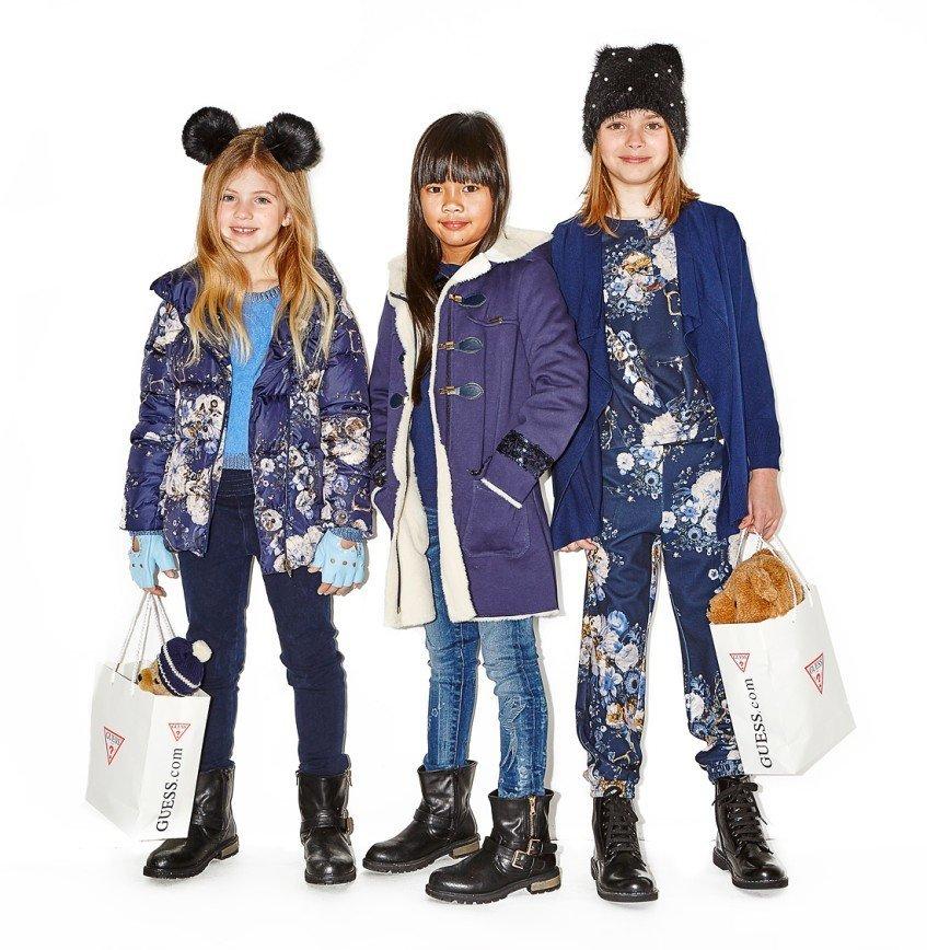 Детская коллекция Guess осень-зима 2016