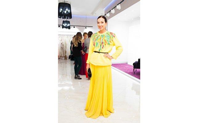 Звезды на открытии бутика известного дизайнера Tarik Ediz