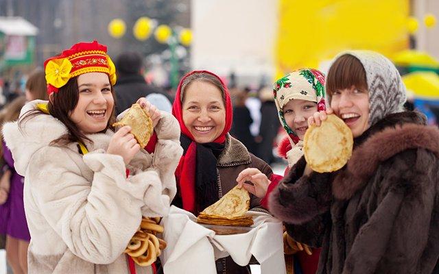 Московская масленица для детей
