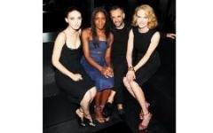 Николь Кидман и Руни Мара на вечеринке Calvin Klein
