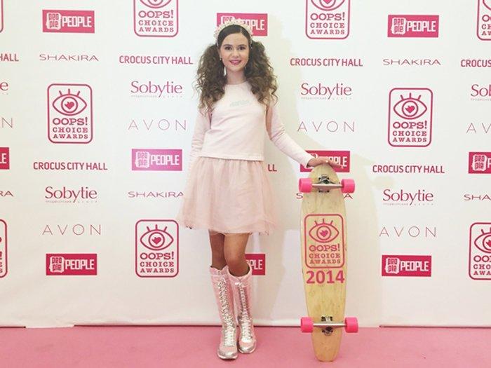 Полина Буторина стала лауреатом «OOPS! Choice Awards-2014»