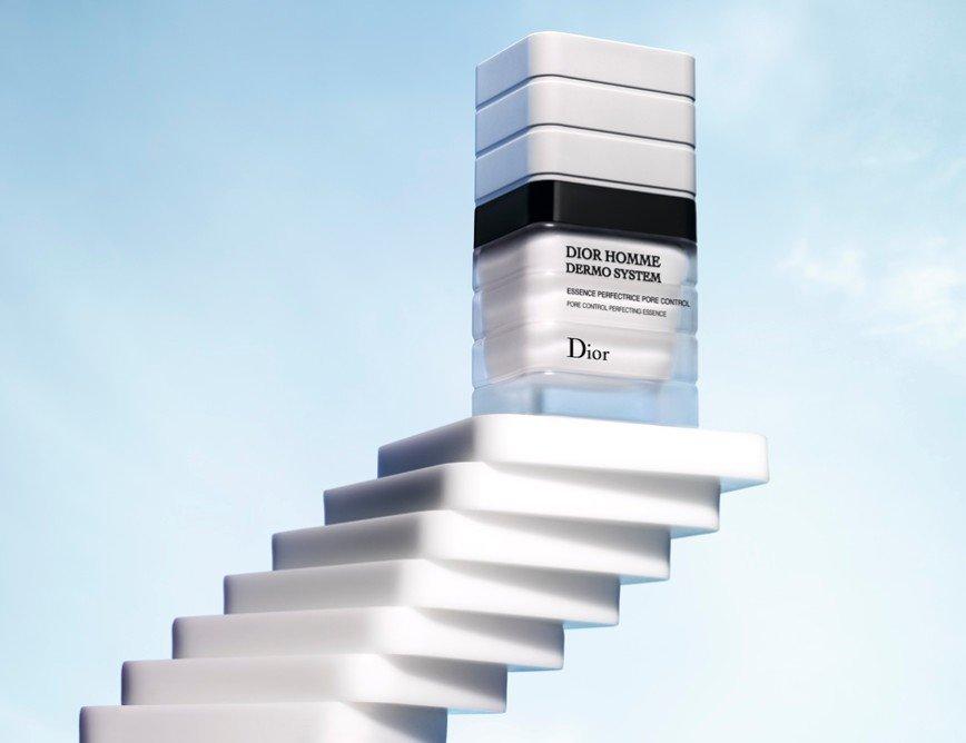 Dior представил эссенцию для сужения пор у мужчин