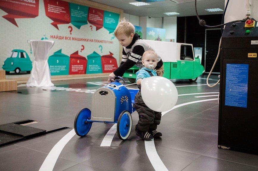 В Москве открылся детский музей автомобильных историй
