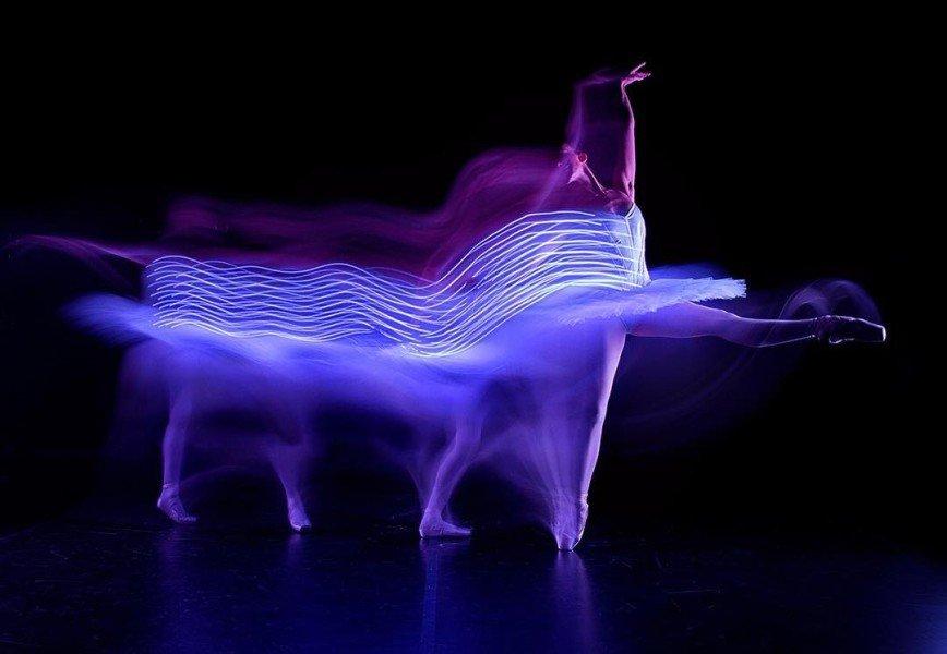 Первая в мире фотосъемка балета «Щелкунчик» в темноте