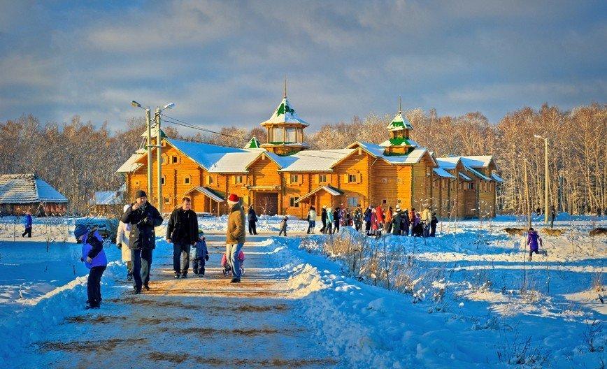 Новогодние каникулы в этнографическом парке-музее ЭТНОМИР