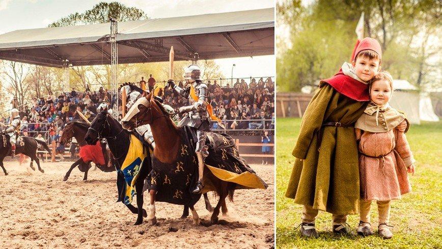 Рыцарский турнир Св. Георгия в Москве становится традицией