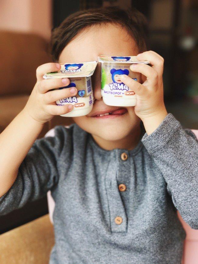 Кисломолочные продукты для детей раннего возраста