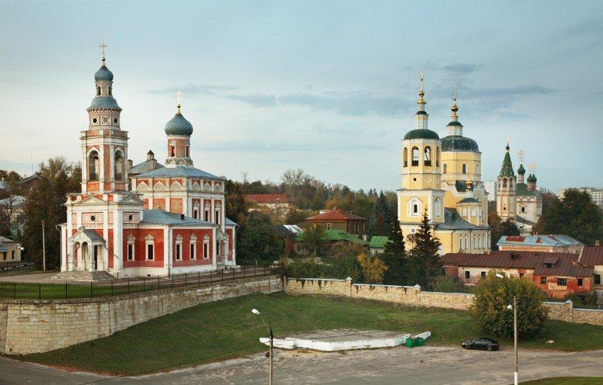 Москва – Серпухов – Старые Кузьмёнки – Москва
