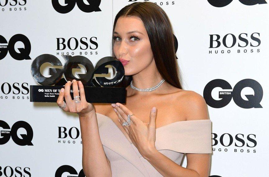 Белла Хадид стала моделью года по версии британского GQ