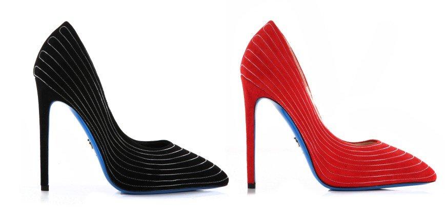 Loriblu представил лимитированную коллекцию туфель, светящихся в темноте