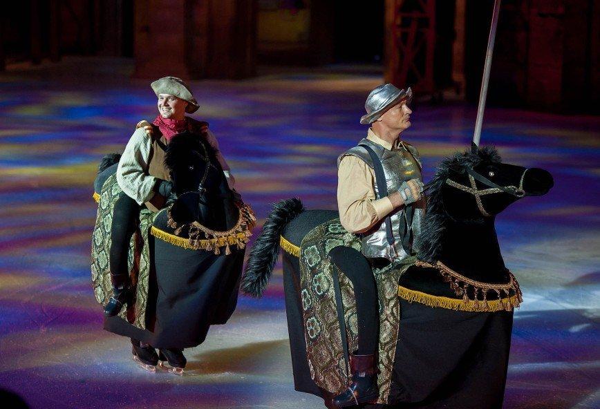 Премьерный показ ледовой постановки «Кармен»