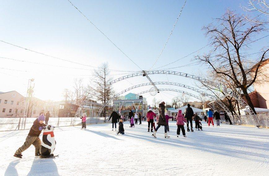 """26 ноября сад """"Эрмитаж"""" откроет каток с искусственным льдом"""