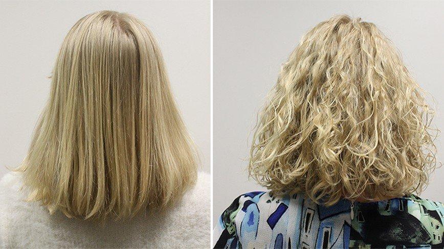 Карвинг или долговременная укладка: тестируем на одной блондинке