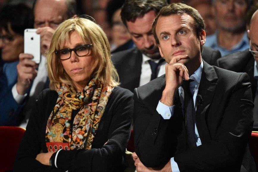 63-летняя бабушка Брижит Макрон может стать первой леди Франции: