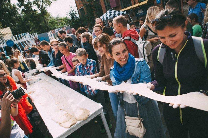 300-метровую пасту изготовят на фестивале в Москве