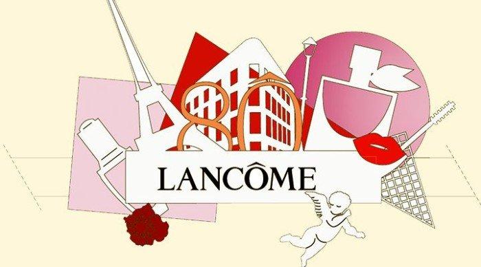 80-летие марки Lancôme в марте