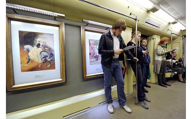 В столичном метро открылась выставка «Пассажиры»