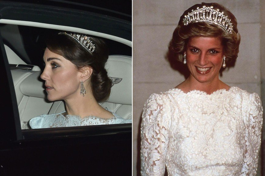 «Узелки любви» Принцессы Дианы теперь носит Кейт Миддлтон