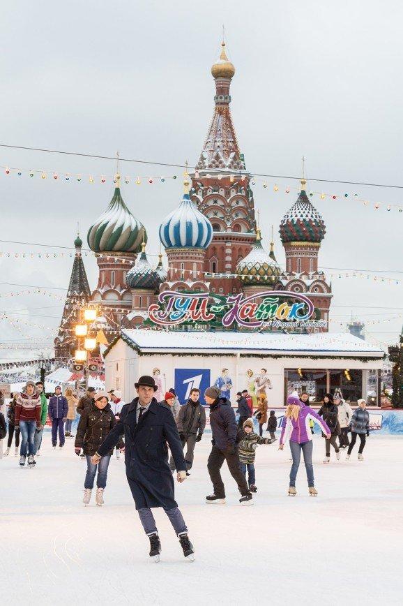 ГУМ-Каток и ГУМ-Ярмарка заработали на Красной площади